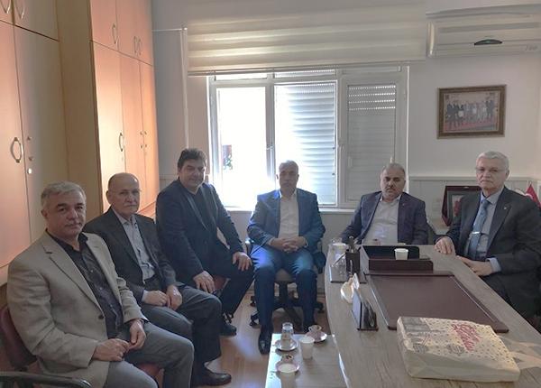 Federasyon Oda Başkanlarımızı Ziyarete Geldi